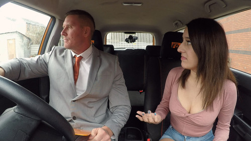 [FakeDrivingSchool] Susy Blue – Huge Facial for Spanish Eyes