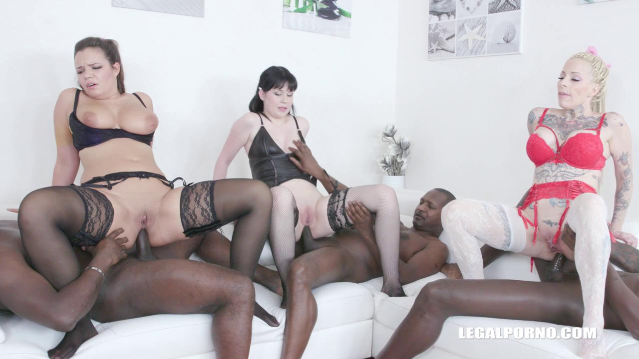 LegalPorno 2019 Scarlet Ruby Sofia Lee and Sweet Angelina Kinky Orgy With High Level Bitches