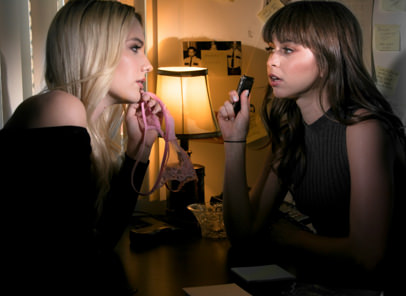 GirlsWay – Kenna James, Riley Reid – The Case Of The Mysterious Panties